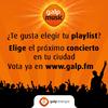 Elige en Galp.fm a tus grupos favoritos para verlos en directo en tu ciudad
